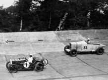 AUSTIN 7 SCH Davis/Freddie March & Talbot AO90 Rose-Richards/Davies Brooklands 300 1930. Photo